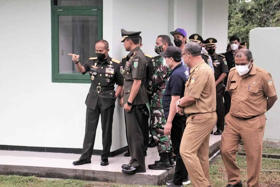 Selesai Lantik Tamtama, Pangdam XVII/Cenderawasih Cek Kesiapan Akomodasi PON XX