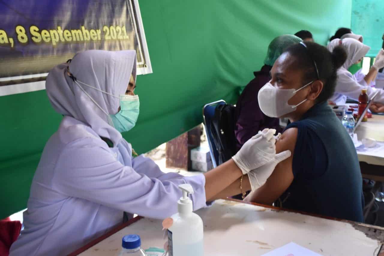 Dukung Program Pemerintah, Kodam XVII/Cenderawasih, Gencarkan Serbuan Vaksinasi Covid -19