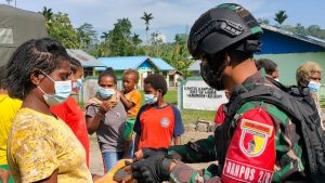 Amankan Batas Negara, Satgas Yonif 512/QY Laksanakan Patroli Patok Perbatasan
