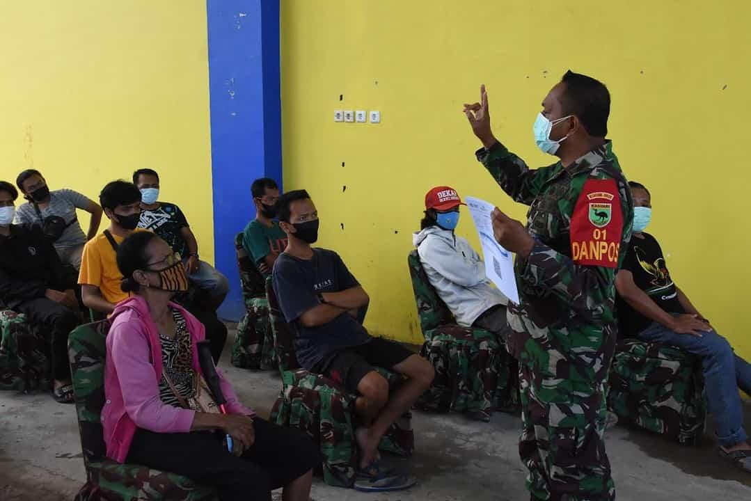 Kodam XVIII/Kasuari Kembali Gelar Serbuan Vaksinasi Bagi Masyarakat Manokwari