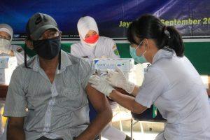 Mendekati Penyelenggaraan PON XX, Kodam XVII/Cenderawasih Gencarkan Vaksinasi Covid -19