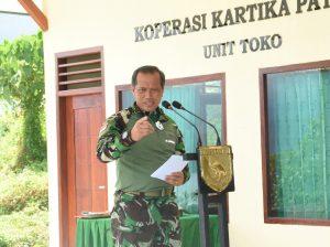 Pangdam Kasuari Resmikan Koperasi Patriot Mandiri Kodam XVIII/Kasuari