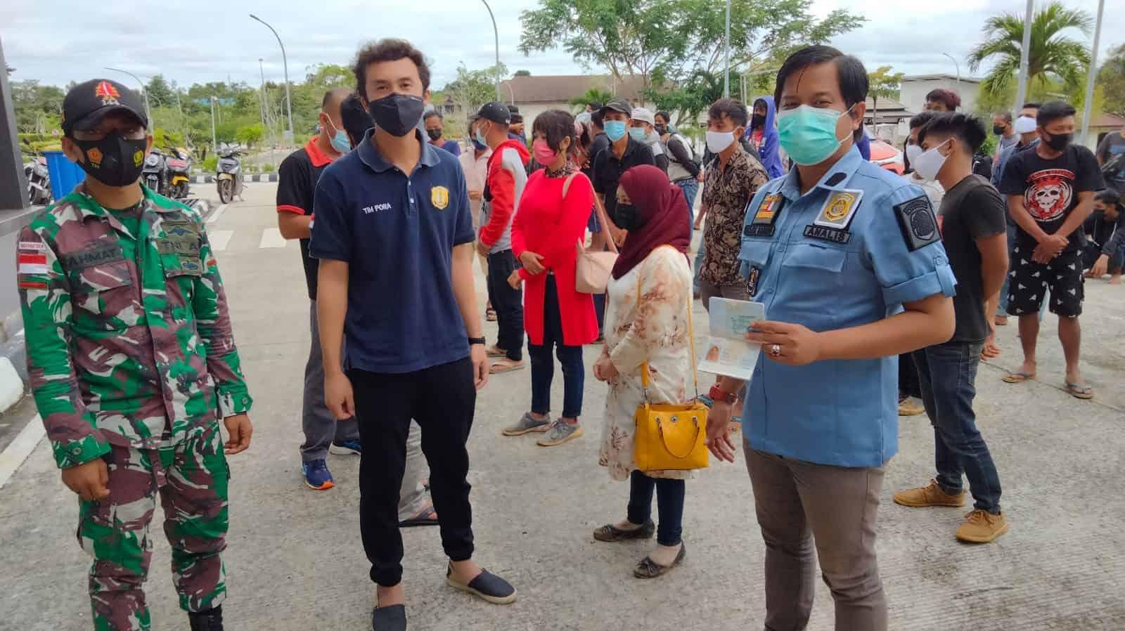 Penggagalan PMI/TKI Jalur Non Prosedural Oleh Anggota Satgas Yonif 144/JY di Perbatasan