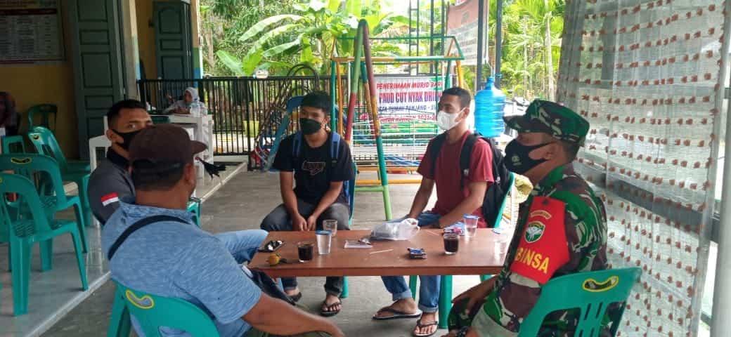 Kodim 0110/ Abdya Ajak Pemuda Jadi Penggerak Vaksinasi dan Prokes