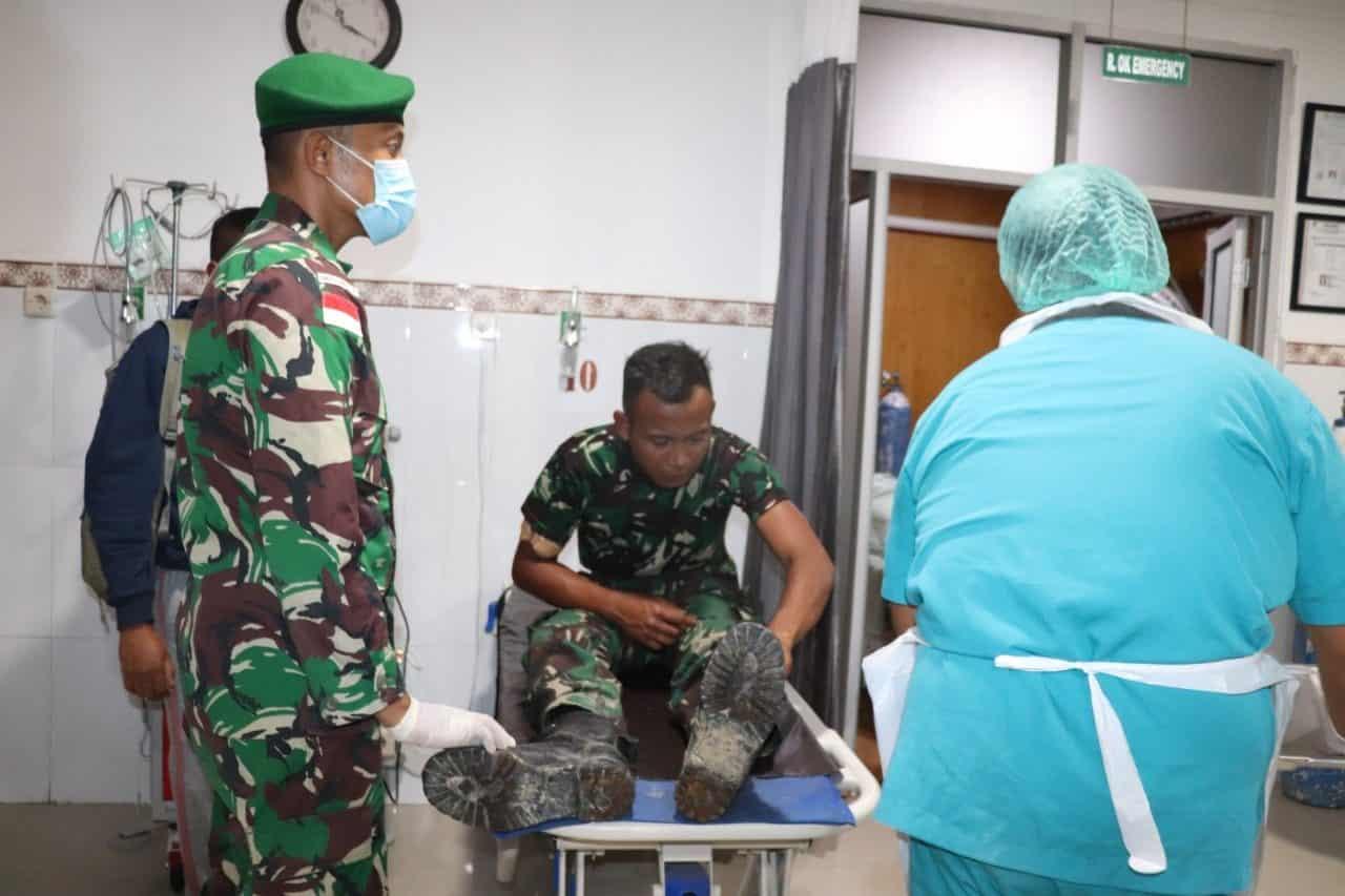 Korban Kekejaman dan Kebiadaban KST di Kiwirok Dirawat di RS TK II Marthen Indey