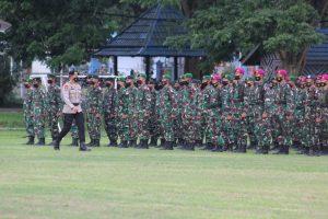 Kodam XVII/Cenderawasih Turut Ambil Bagian Apel Pengamanan PON XX 2021