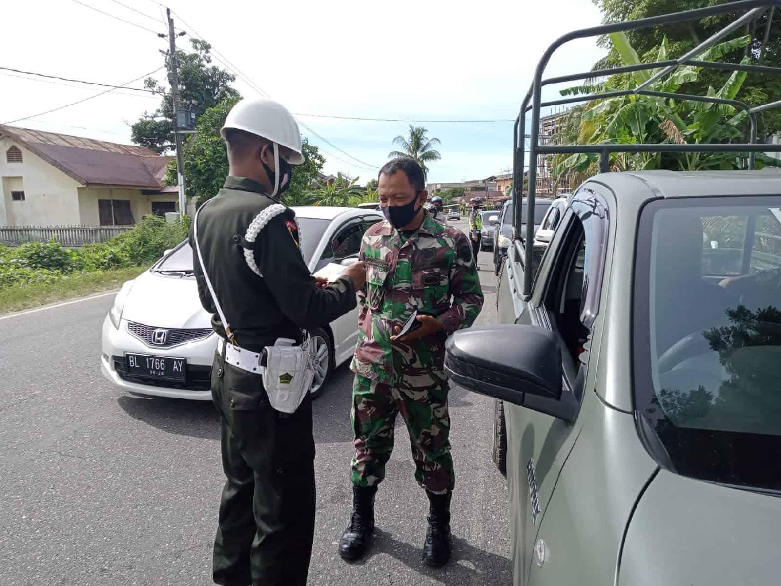 Operasi Patuh Selawah Resmi Dimulai, Prajurit dan Persit KCK Kodim 0110 Jadi Tauladan Disiplin