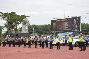 Pangdam I/BB Hadiri Apel Gelar Pasukan Operasi Patuh Toba 2021