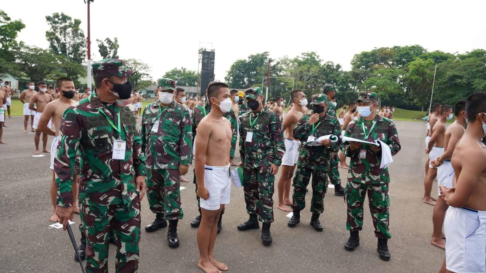 Pangdam II/Sriwijaya Pimpin Sidang Pantukhir Caba PK TNI AD TA 2021