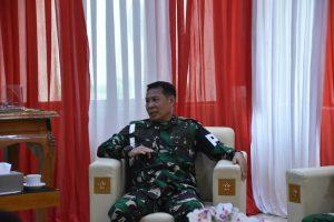 Danpuspomad Terima Kunker Danpuspom TNI