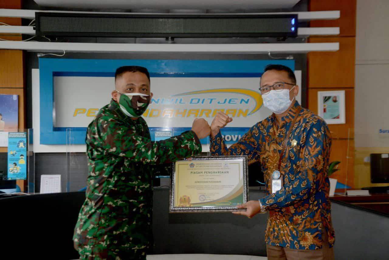 Kodam IX/Udayana Raih Peringkat I Satker Berkinerja Terbaik Kategori Pagu Besar