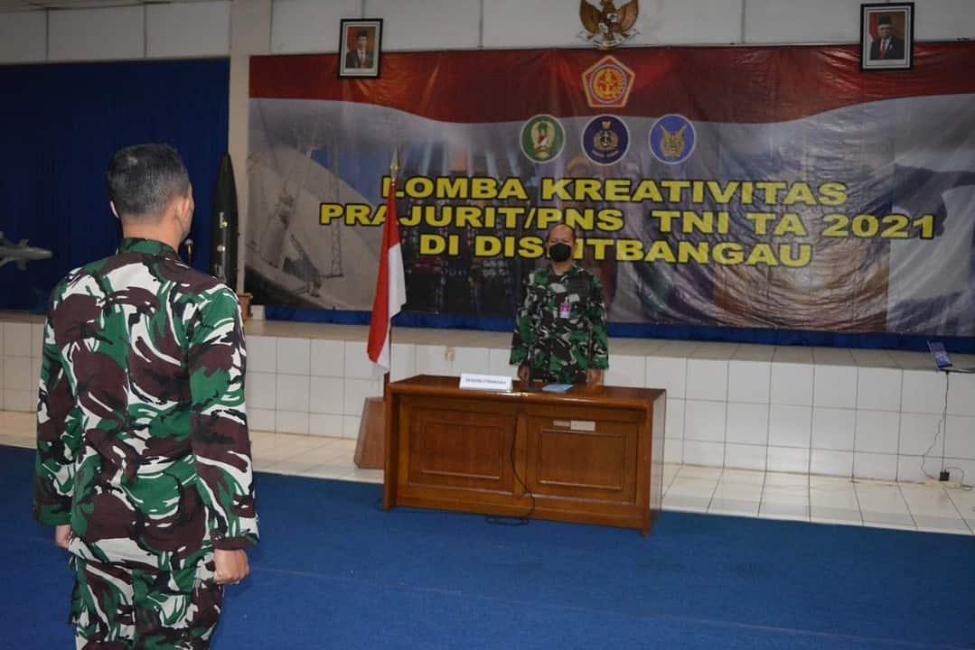 TNI AD Merajai Lomba Kreativitas Prajurit/PNS Lingkungan TNI dI Dislitbang AU