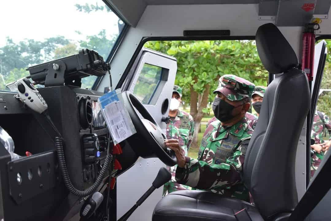 Danrem 174/ Merauke Siapkan Kendaraan Taktis Dukung Pengamanan PON XX/2021 Papua