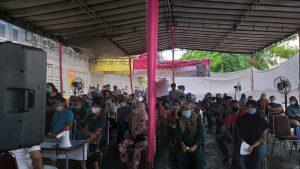 Ciptakan Herd Immunity , Kodam I/BB Gelar Serbuan Vaksinasi di Kompleks Cemara Asri Medan