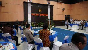 Pangdam II/Sriwijaya Menjadi Salah Satu Narasumber FGD di Mapolda Sumsel