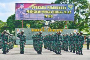 Kodam II/Sriwijaya Buka Pendidikan 440 Calon Prajurit Bintara di Rindam II/Sriwijaya