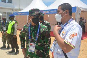 Secara Langsung, Pangdam XVII/Cenderawasih Cek Kesiapan Pengamanan Venue PON di Jayapura