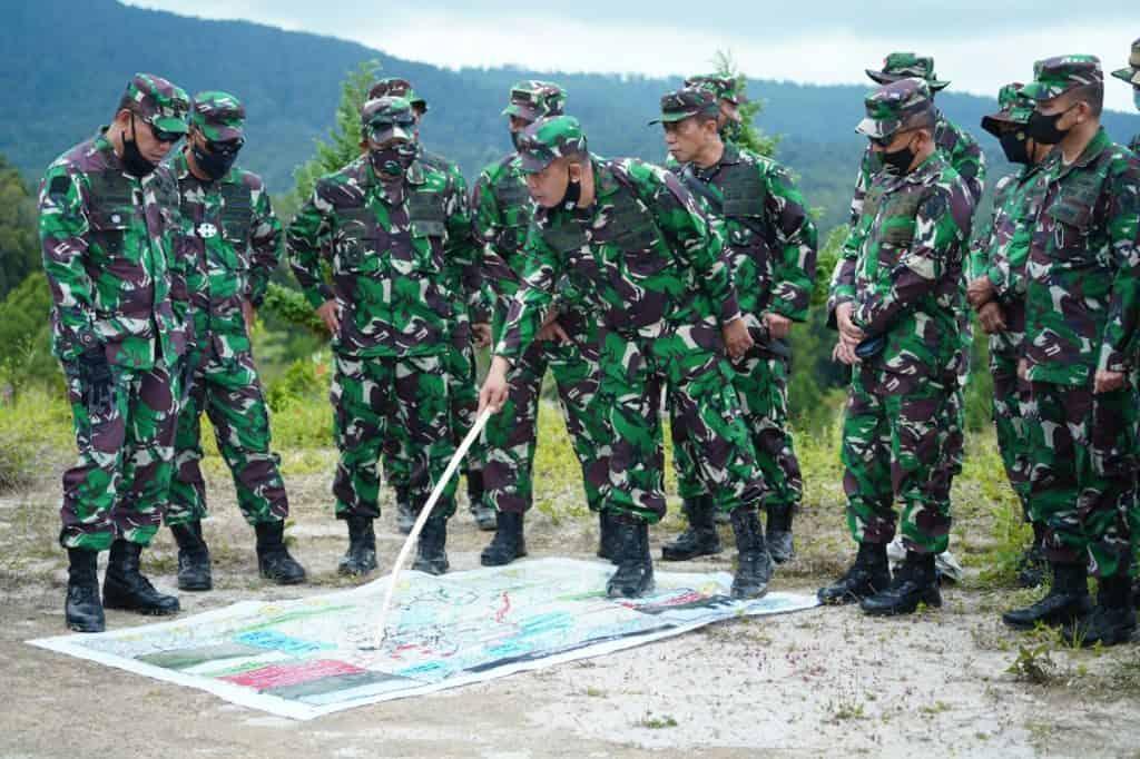 Kasdam I/BB Dampingi Dankodiklatad Tinjau Medan Latihan YTP Yonif R 100/PS
