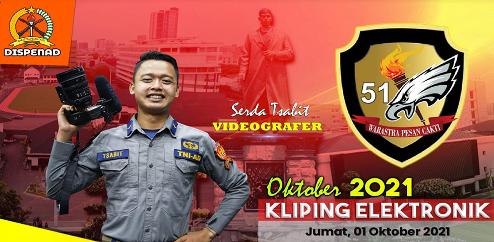 Kliping Elektronik Jumat, 01 Oktober 2021