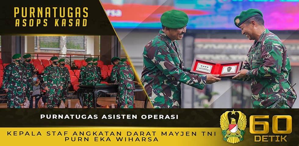 Mayjen TNI Eka Wiharsa, Asisten Operasi Kasad yang Memasuki Masa Purnatugas