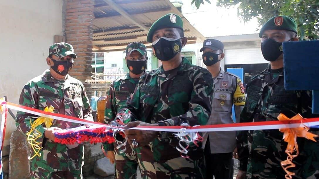 Sambut HUT TNI Ke-76, Kodim 1628 Rehab Rumah Purnawirawan TNI AD