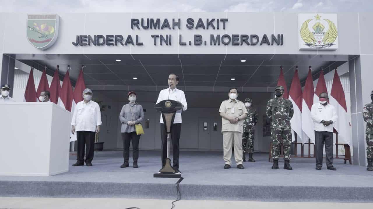 Pangdam XVII/Cenderawasih Dampingi Presiden RI Dalam Kunjungan Kerja di Kabupaten Merauke