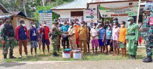 TNI Gelar Baksos di Distrik Yaffi, Perbatasan Papua