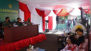Danrem 061/SK Salurkan Bantuan Tunai Pedagang Kaki Lima dan Warung (BTPKLW) Untuk 14.200 Warga