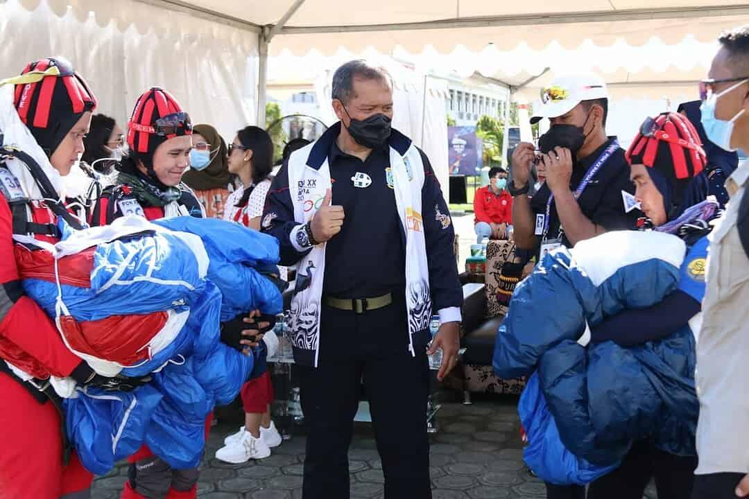 Pangdam Kasuari Kunjungi Pertandingan PON, Beri Semangat Kontingen Papua Barat