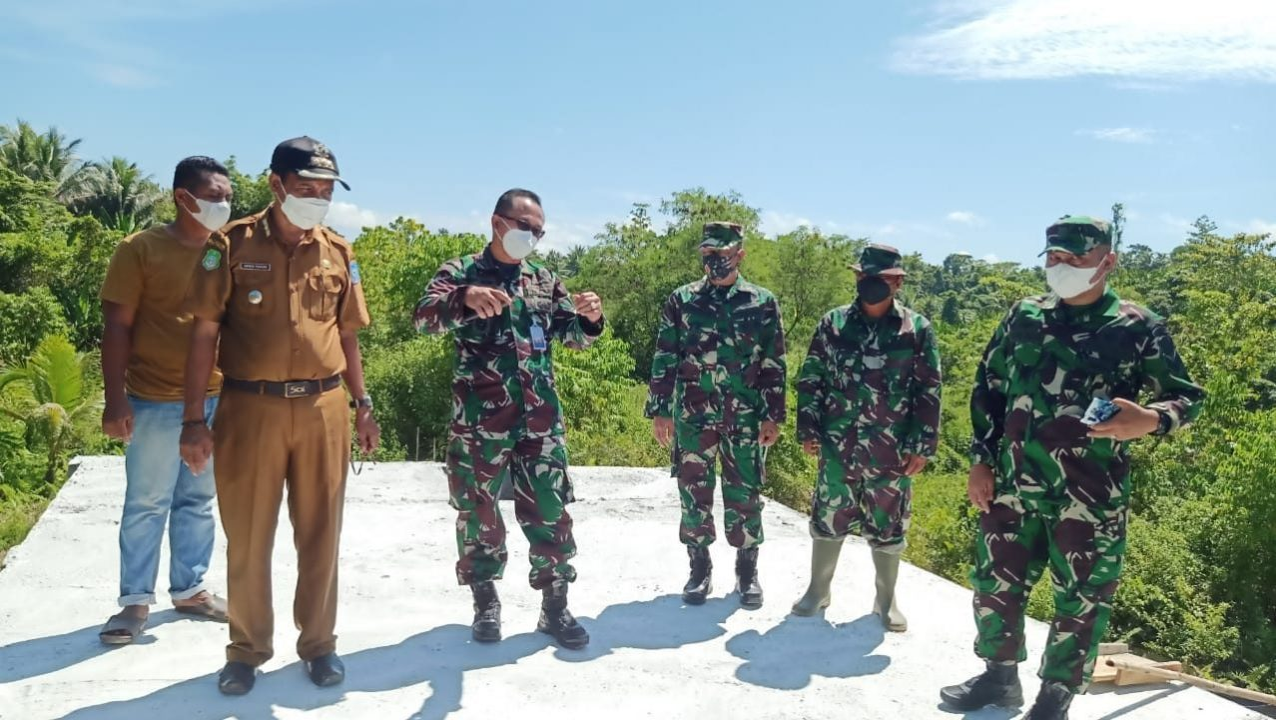 Tim Wasev Sterad Tinjau Sasaran Serbuan Teritorial di Wilayah Kao Barat
