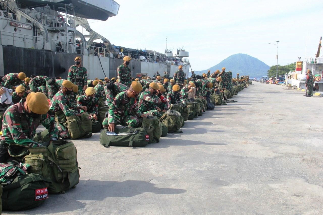 Korem Gandeng BKSDA Laksanakan Pemeriksaan Pra Debarkasi Purna Tugas Satgas Yonarmed 8/105 Tarik/Uddhata Yudha