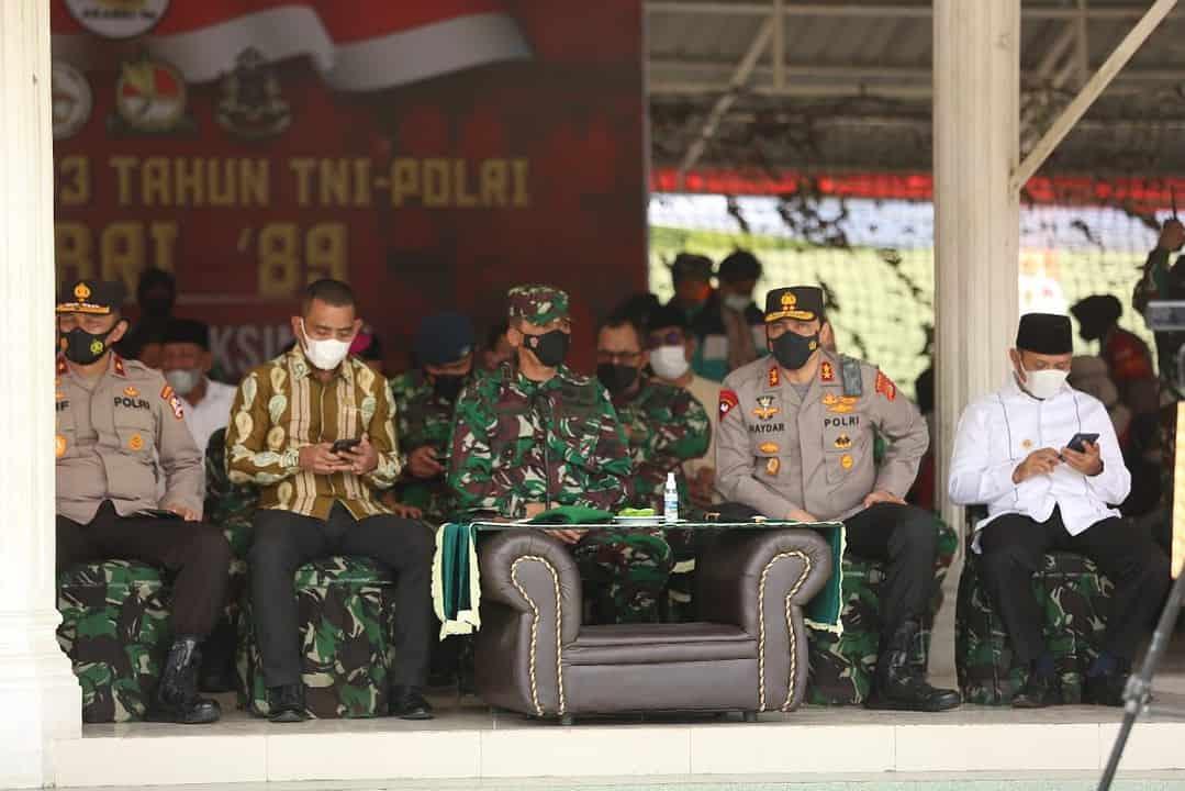 Pangdam IM Bersama Forkopimda Aceh Hadiri Serbuan Vaksinasi Covid-19 dan Baksos Alumni Akabri '89