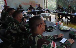 Pangdam XVII/Cenderawasih Dampingi Kunjungan Kerja Dankodiklatad dan Danpussenif Kodiklatad di Kabupaten Mimika