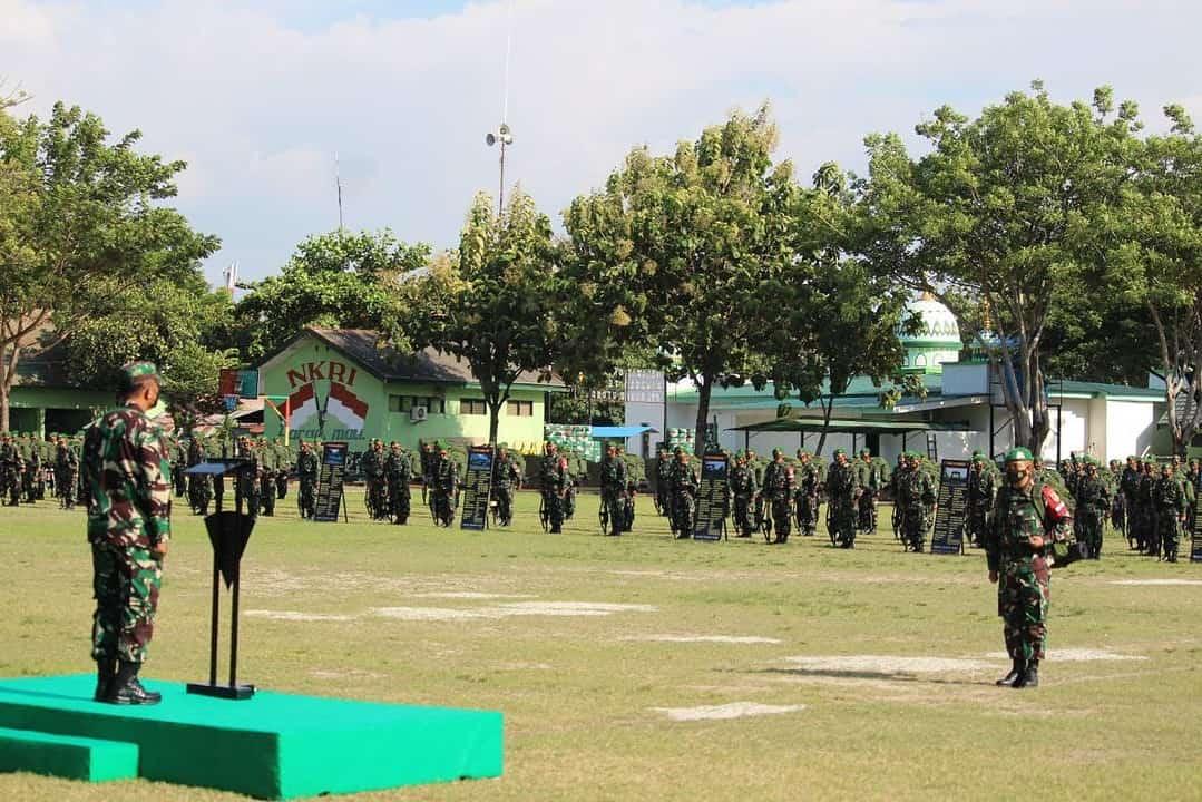 Asops Kasad Riksiap Ops Satgas Yonif 711/Raksatama Yang Akan Bertugas di Papua