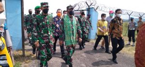 Kunker ke Babel, Pangdam II/Sriwijaya Hadiri Penandatanganan MoU Kerja Sama Fasilitasi Investasi , Perdagangan, Jasa dan Pariwisata Antara Pemprov Babel Serta Pemprov Lampung