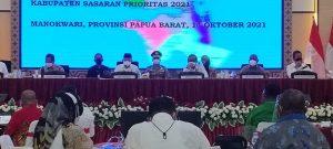 Wapres RI Kunker Ke Wilayah Manokwari Bahas Penanggulangan Kemiskinan Ekstrem Tahun 2021