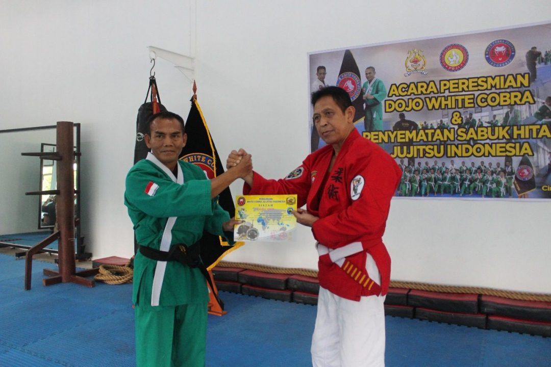 Kadisjasad Resmikan Dojo Beladiri Jujitsu