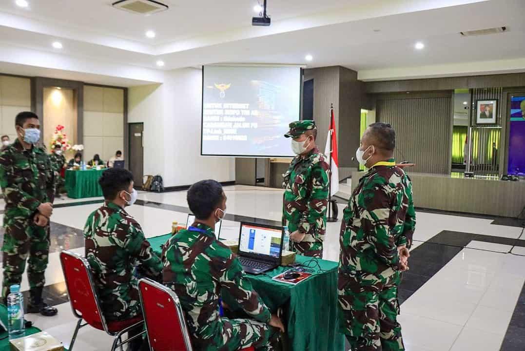 Puspenerbad Gelar Bimtek Sisfo TNI AD TA 2021