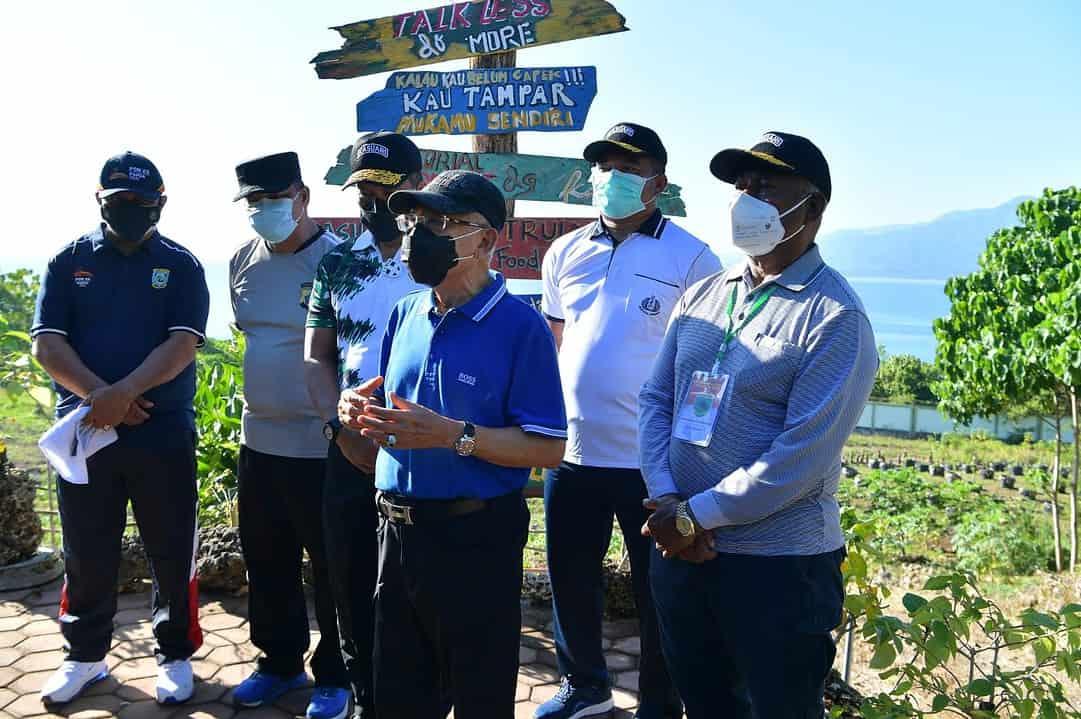 Wapres RI, Ma'ruf Amin Apresiasi Kebun Wisata dan Ketahanan Pangan Kasuari Green Kodam XVIII/Kasuari