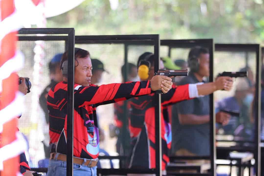 Kasdam II/Sriwijaya Juara 1 Lomba Tembak Walikota Cup HUT Ke-20 Kota Prabumulih