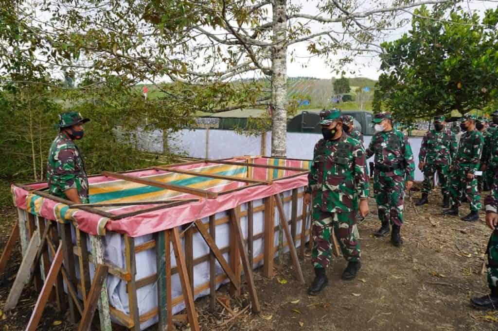 Ribuan Pasukan Kodam I/BB Siap Tempur di Dolok Panribuan