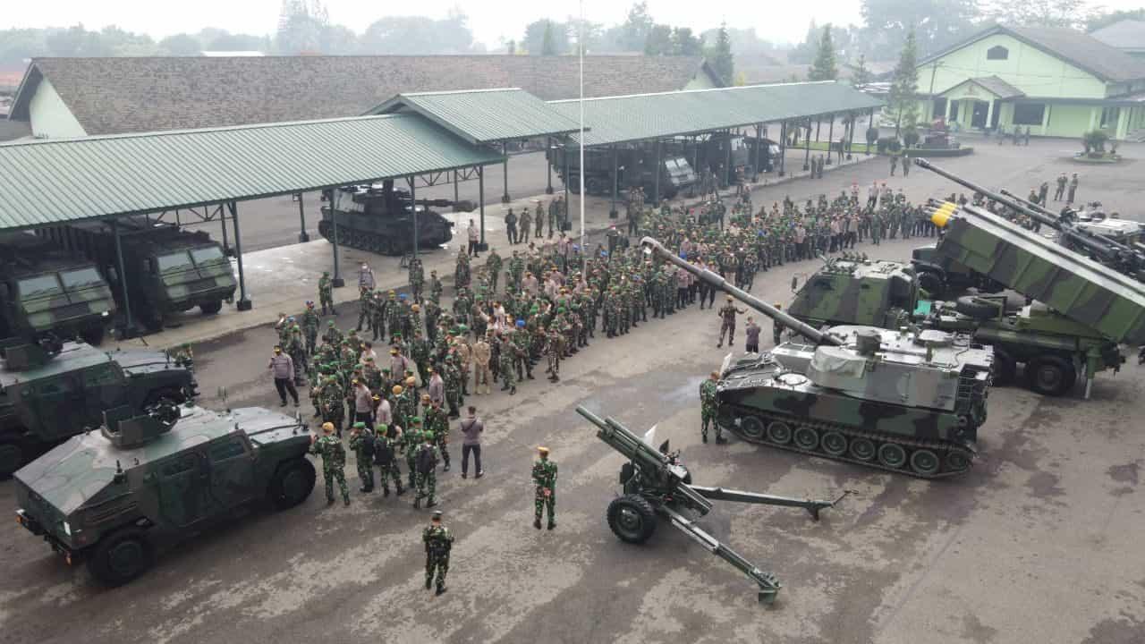 Siswa Diklapa II Kecabangan TNI AD dan Siswa Sespimma Polri ikuti Kegiatan Kolaborasi Pendidikan Terintegrasi TA. 2021