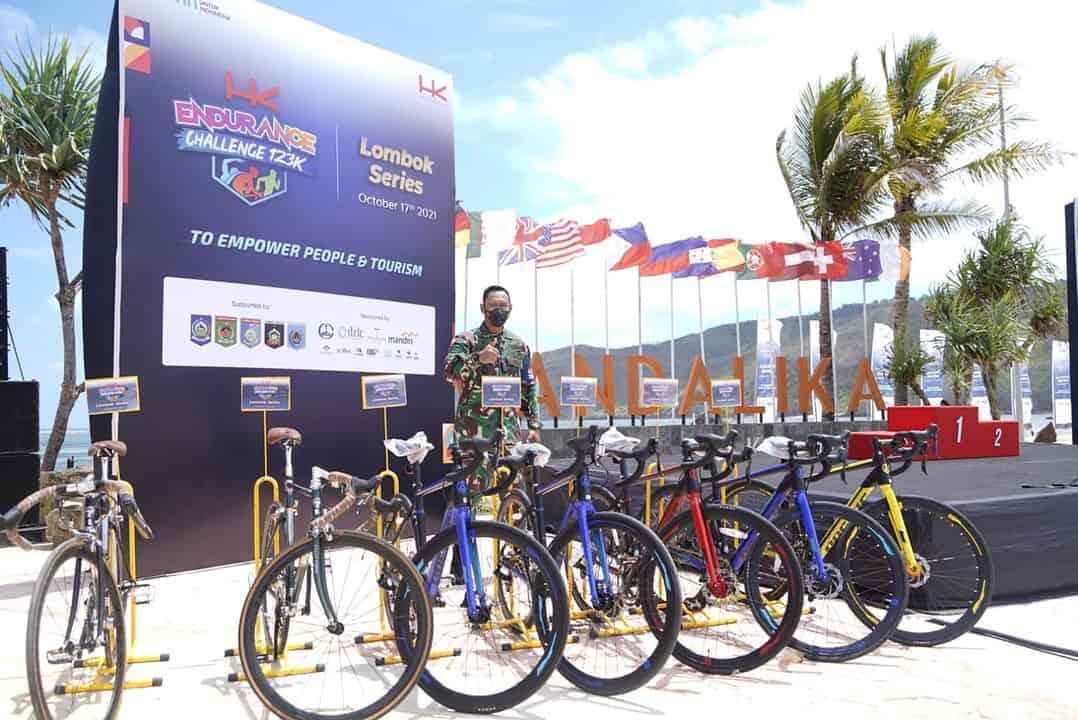 Danrem 162/WB : Event HKEC Lombok Series 2021 Bangkitkan Gairah Wisata di Lombok