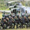 Persiapan Puncak Latihan YTP R-100/PS, Pangdam I/BB dan Danpuslatpur Tinjau Latihan Dengan Helikopter
