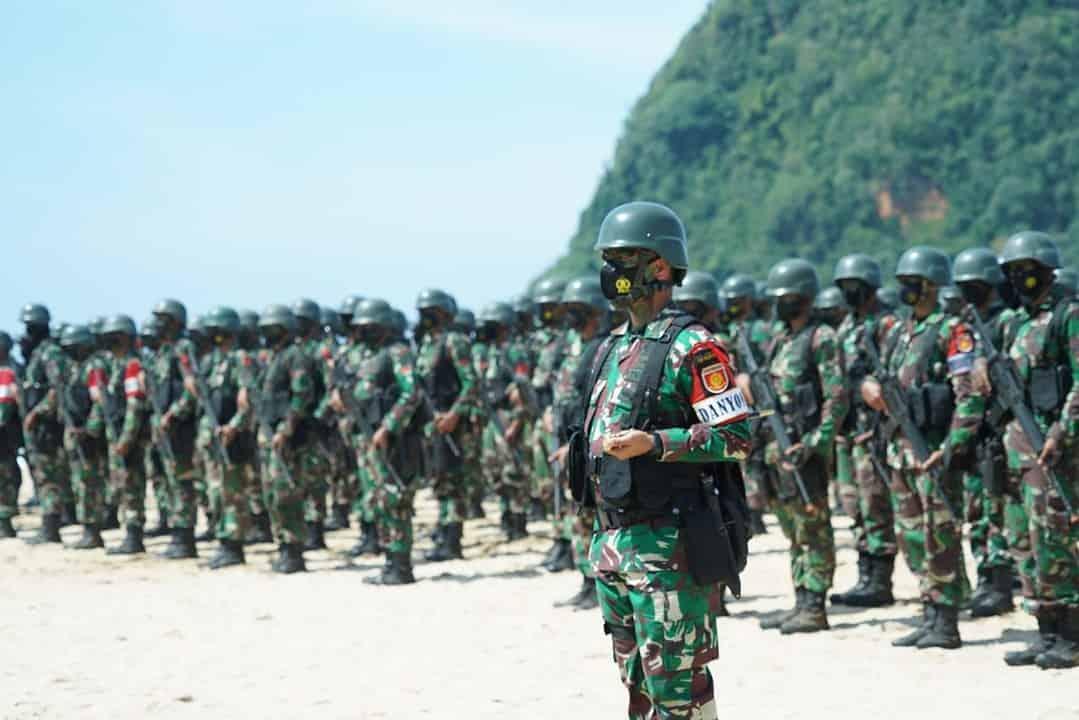Pangdivif 2 Kostrad Tutup Latihan Pemantapan Raider Yonif R 509 Kostrad
