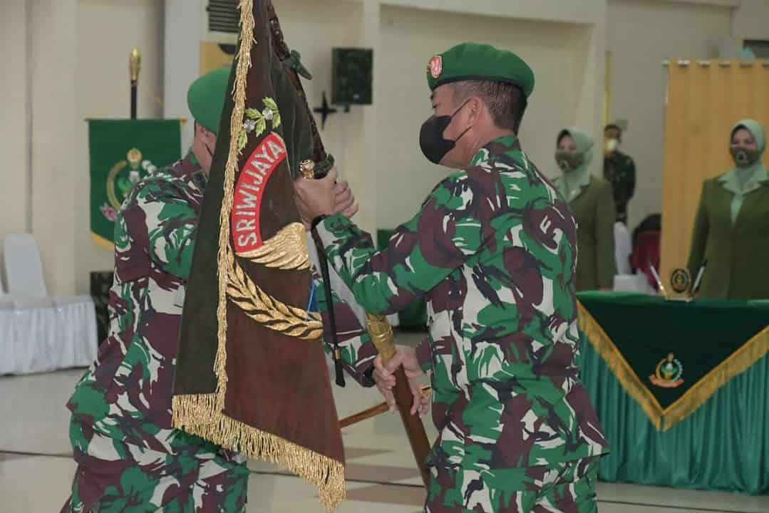 Pangdam II/Sriwijaya Pimpin Sertijab dan Penyerahan Jabatan 3 Pejabat Kodam II/SWJ