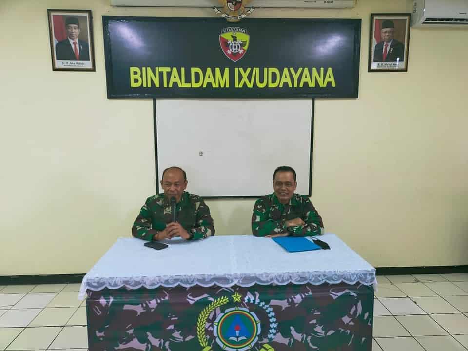 Disbintalad Lakukan Wasgiat di Bintaldam IX/Udayana