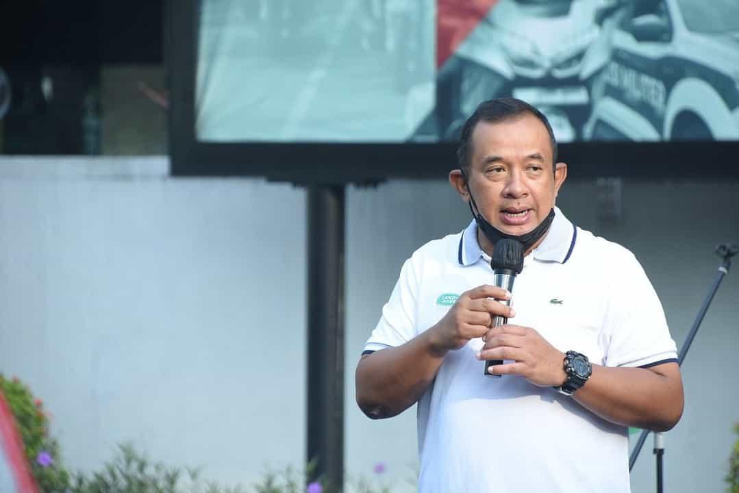 Jalin Kebersamaan, IKAT 88 Gelar Olahraga Bersama di Puspomad