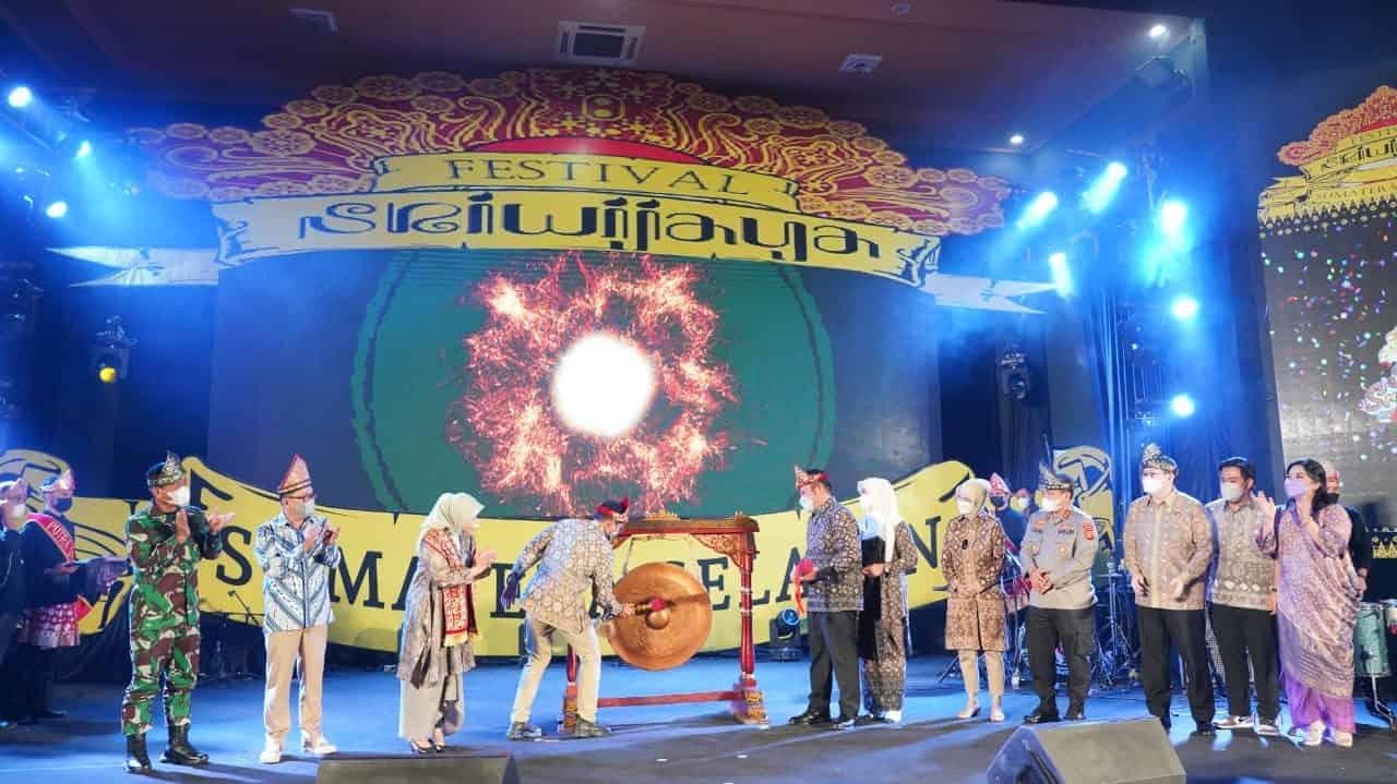 Pangdam II/Sriwijaya Hadiri Acara Pembukaan Festival Sriwijaya 2021