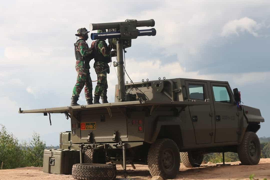 Rudal Starstreak Pasukan YTP Raider 100/PS Rontokkan Pesawat Tempur Musuh